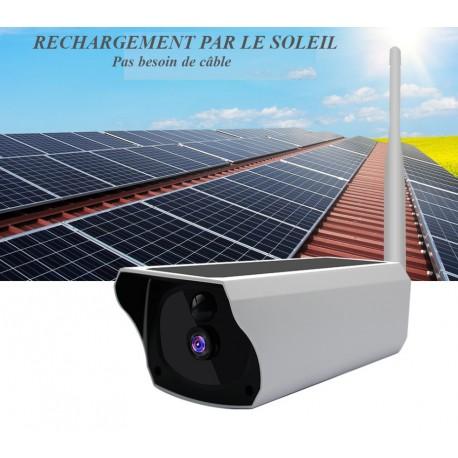 Caméra de surveillance wifi et sans fil étanche IP67