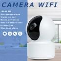 Caméra de surveillance d'intérieur wifi motorisée haute résolution