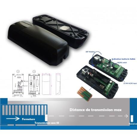 Photocellule orientable sur batterie automatisme de portail