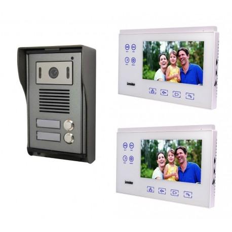 Portier vidéo pour 2 appartements ou 2 logements