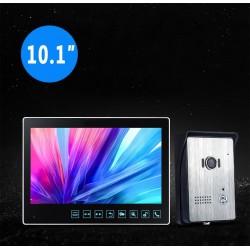Visiophone couleur 10 pouces enregistreur de visiteurs