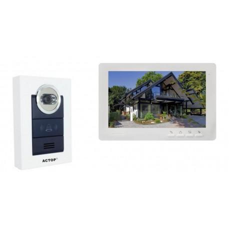 Interphone vidéo couleur de maison