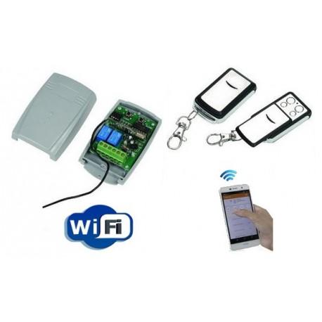 Kit télécommande de portail wifi et radio