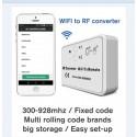 Télécommande universelle automatisme de portail par smartphone